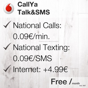CallYa Talk&SMS [Vodafone] | My German Phone