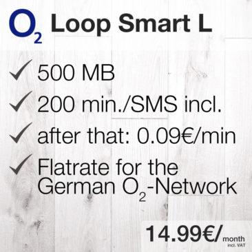 O2 Loop Smart 1GB