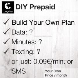 DIY Prepaid [Congstar]