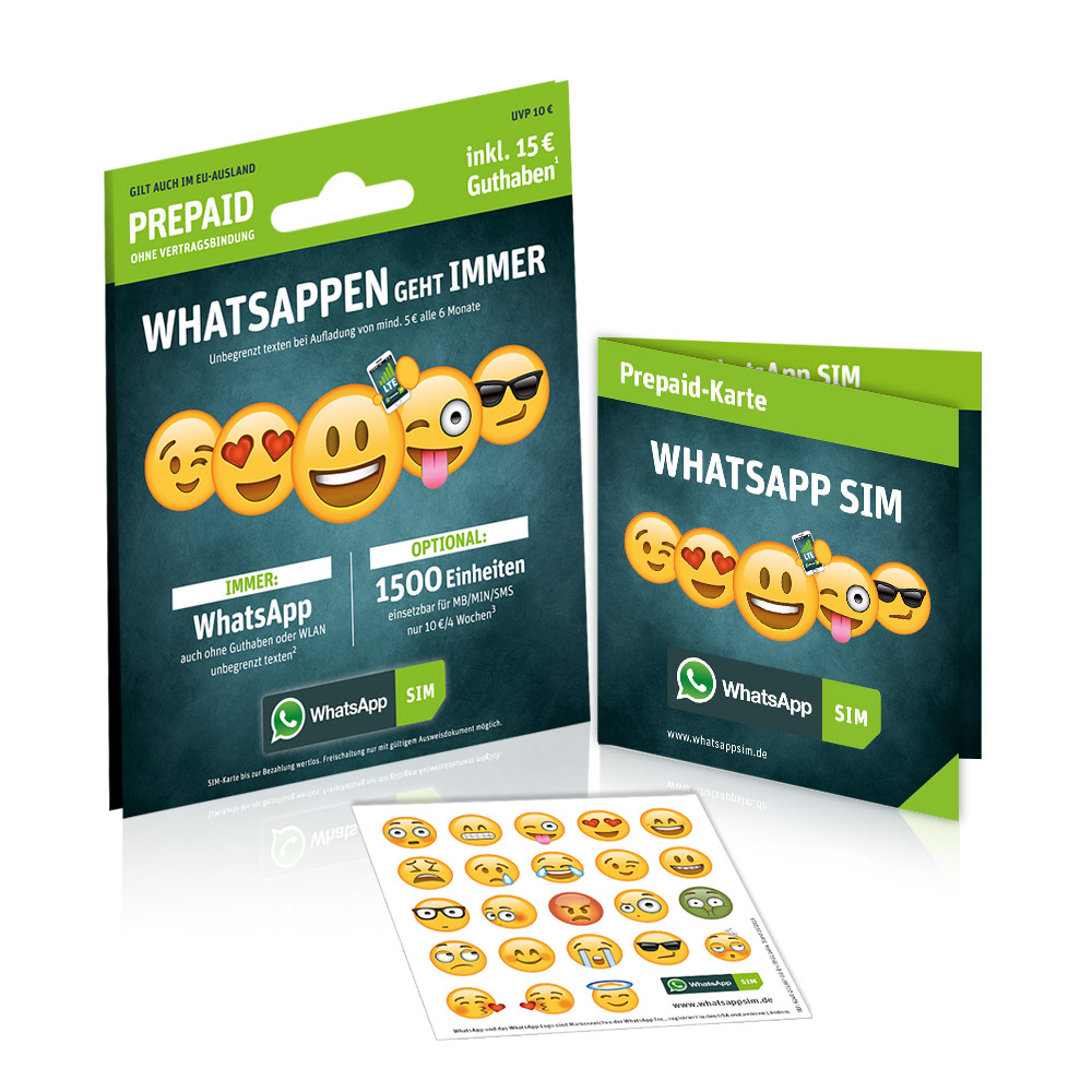 WhatsApp SIM Card: Use WhatsApp For Free In All Of Europe