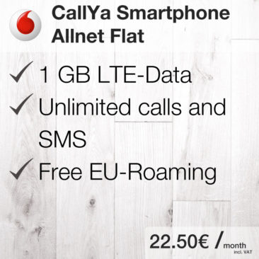 CallYa Smartphone Allnet Flat [Vodafone]