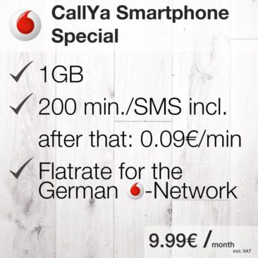 CallYa Smartphone Special [Vodafone]