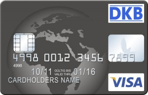 DKB Visa card free worldwide cash